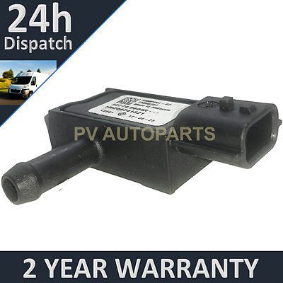 DPF EXHAUST DIFFERENTIAL PRESSURE SENSOR FOR RENAULT MEGANE 1.5 DCI 2008 ON