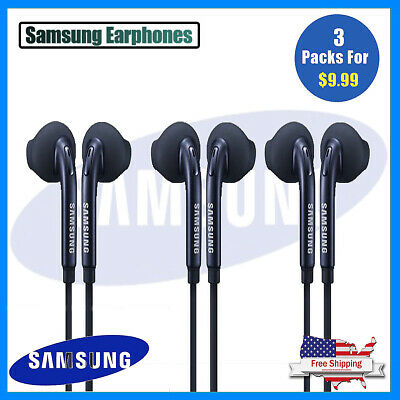 New OEM Samsung Galaxy S6 S7 S8 S9 Note 8 Headphones Headset Earphones Ear Buds