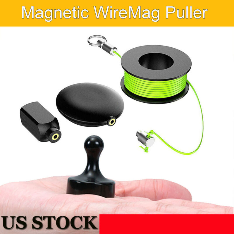 Magnetic Pulling Threader Professional Wiremag Puller Wire Cable Running Device
