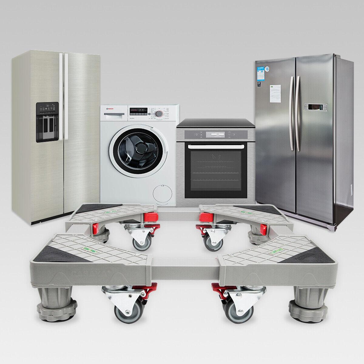 Verstellbare Waschmaschinen //Trockner Untergestell Podest Sockel für Kühlschrank