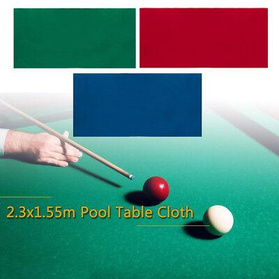 7ft Billard Pool Tischtuch Tischdecke Snooker Billiardtisch Tuch Billardstoff