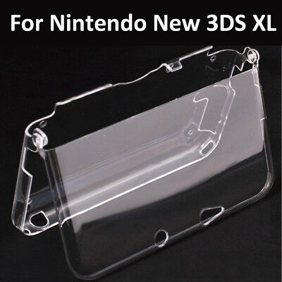 Clear Crystal Protective Hard Shell Case Cover For Nintendo New 3DS XL Console