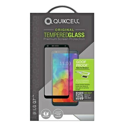 Quikcell - LG Q7+ Tempered Glass Screen Protector - BRAND NEW! BEST