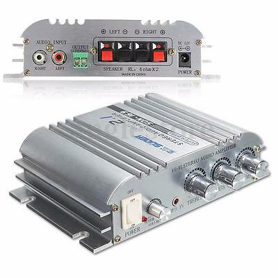 Car Amplifier Home 300W 12V Super Bass Hi-Fi 2.1 Channel Stereo Audio Mini AMP