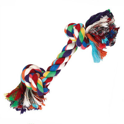 Hundespielzeug, Baumwollknoten - Zerrseil-Zahnknoten - Knotenseil ca. 20 cm