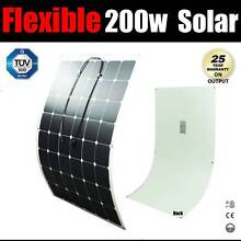 Flexible Solar Panel 200w High Efficiency 12v house car boat 4wd Craigie Joondalup Area Preview