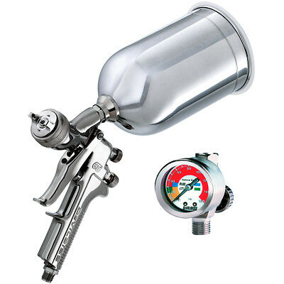 DeVilbiss GTI-620G 3in1 HVLP Base/Clear Coat Spray Gun with FREE SHIPPING!!