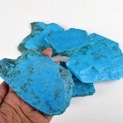 Natural 800 Carat Slab Blue Turquoise Superb Rough Stabilized Loose Gemstone Lot