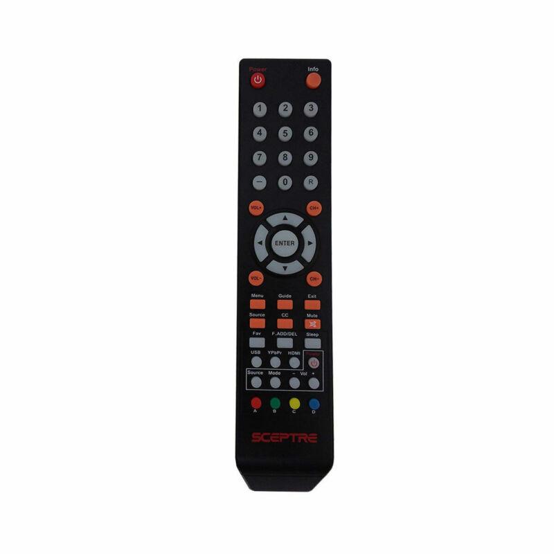 Genuine Sceptre TV Remote Control 8142026670003C For E168BV-WVSS U435CV-UMR