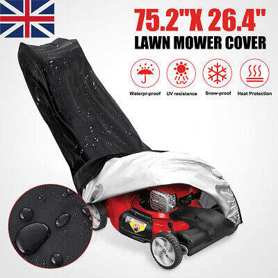 Waterproof Lawn Mower Cover Universal Anti-UV Gardening Dustproof Rain Cover UK