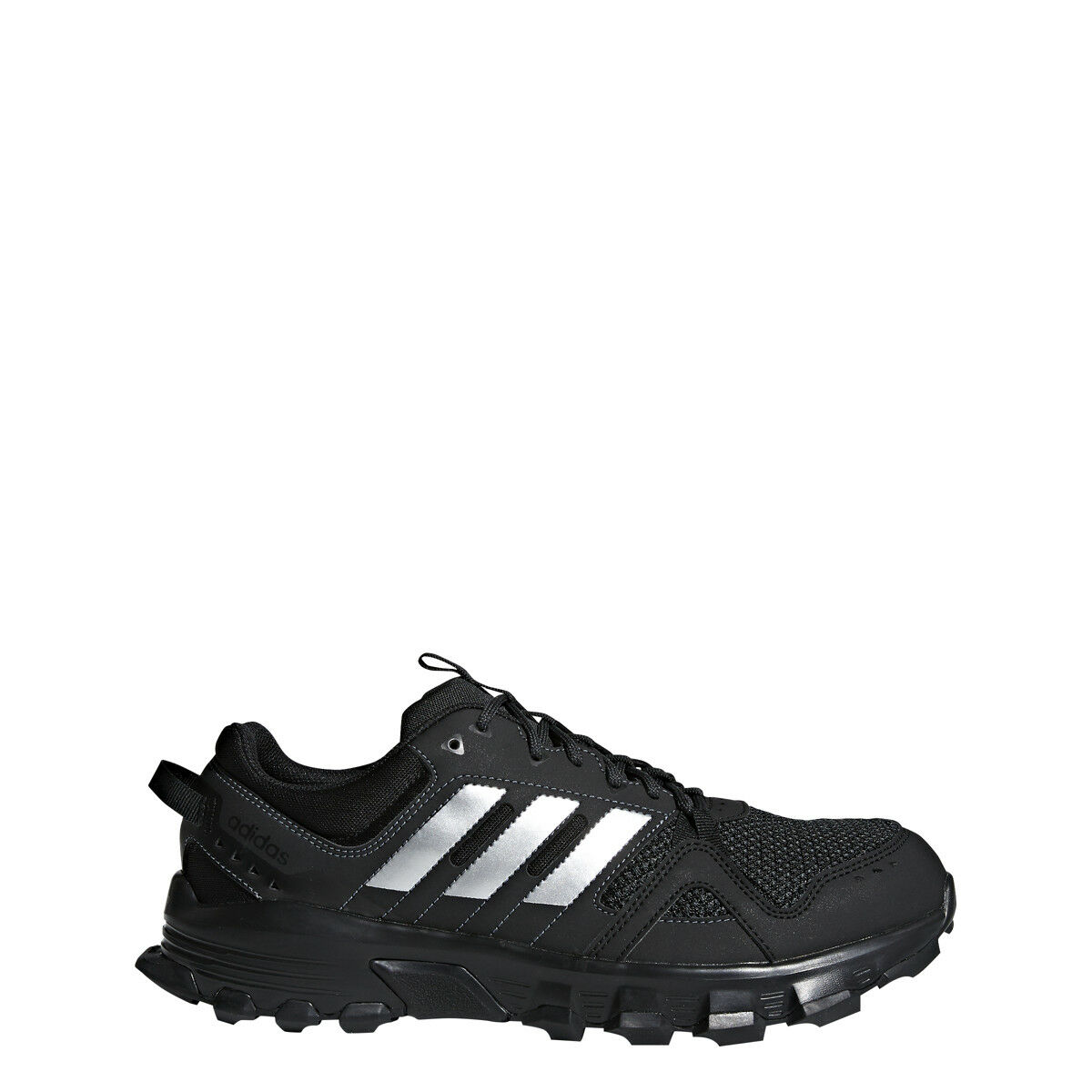 sMens Adidas Rockadia Trail Black Sport Athletic Running Sho