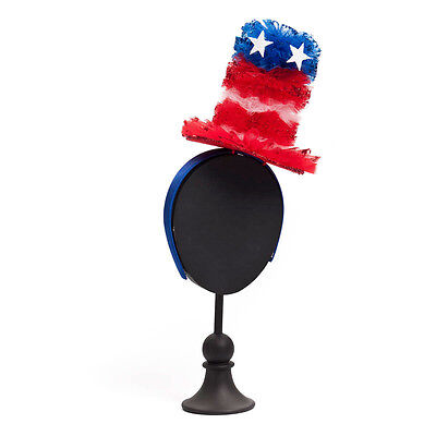 Party PATRIOTIC Top Hat Americana 4th of July Festive Fun Fashion Accent NEW