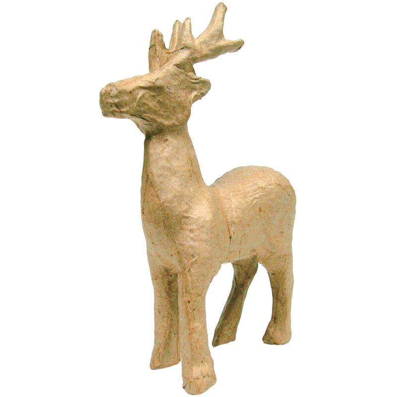 """Decopatch Paper-Mache Figurine 4.5""""-Reindeer"""