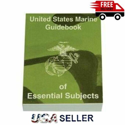 US MARINE CORPS Guidebook Handbook Of Essential Subjects Training Book USMC NEW