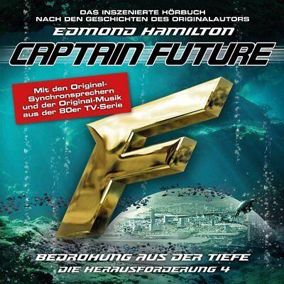 CAPTAIN FUTURE BEDROHUNG AUS DER TIEFE DIE HERAUSFORDERUNG 4 CD NEU