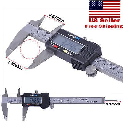 6 inch /150mm Digital Electronic LCD Ruler Gauge Caliper Micrometer