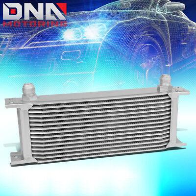 UNIVERSAL 15-ROW 10AN TRANSMISSION/ENGINE OIL COOLER RADIATOR KIT HEAT COOL DOWN
