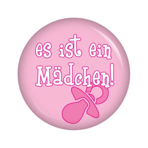 Kiwikatze® Baby 37mm Button Pin Ansteckbutton für Wickel... Papas Prinzessin