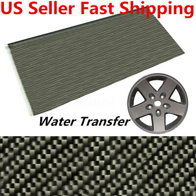 Carbon Fiber Water Transfer Dipping Hydrographics Film Pva Printing 100x50cm Us