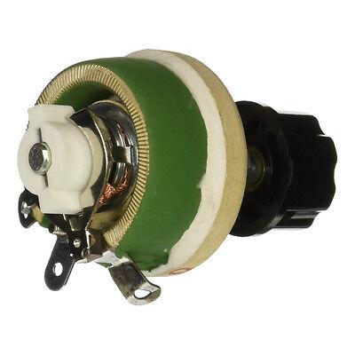 Single Turn Resistor 25w 30 Ohm Adjustable Taper Ceramic Disk Rheostat A4c5