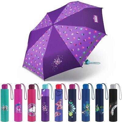 hirm Mädchen Jungen Taschen Schirm Kids Umbrella Girls Boys (Jungen Regenschirm)