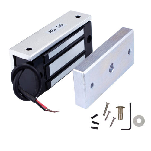 Mini 12V Electric Magnetic Door Lock Door Entry Access Control 60kg Top Quality