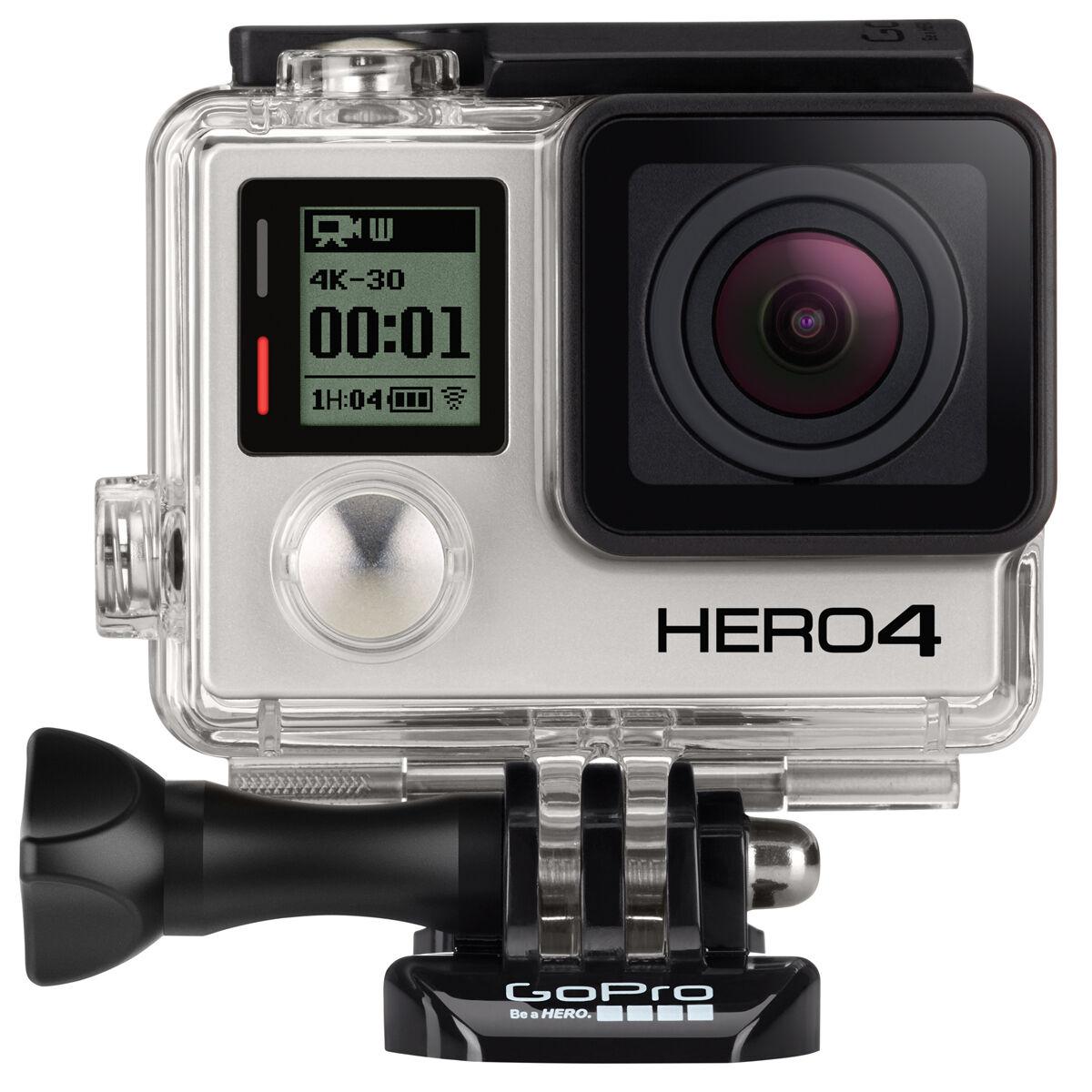Купить GoPro - GoPro HERO4 Black Edition Camera Manufacturer Refurbished