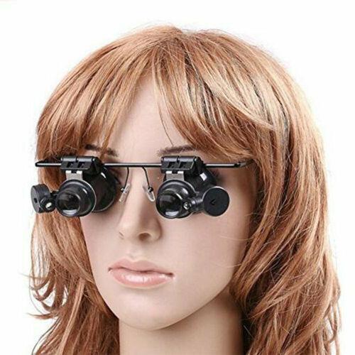 20X Magnifier Magnifying Eye Glass Loupe Jeweler Watch Repai