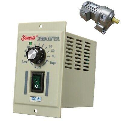 Dc-51 13 Phase Ac 110v Motor Speed Controller Variable Adjust For Dc 90v 400w