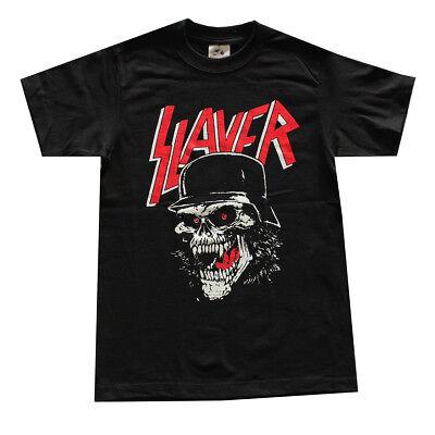 Children Boy Kids Slayer Skull Helmet Graphic Shirt Black](Kids Skull)