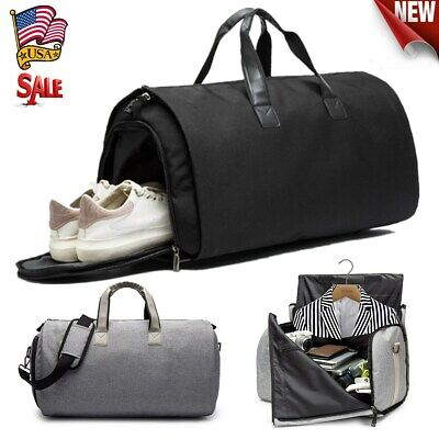 US Garment Bag+Duffle 2 in 1 Business Travel Suit Jacket Gym