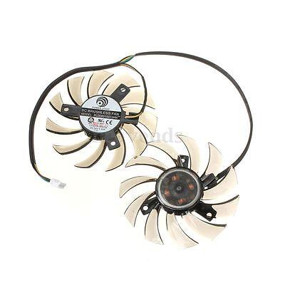 MSI GTX 460 580 R6870 R6950 Twin Frozr II Dual Cooler Fan Conponents Tool 75mm