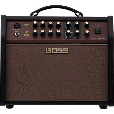 Boss ACS Acoustic Singer Live LT 60w Acoustic Guitar Amp Combo Amplifier, Mic In