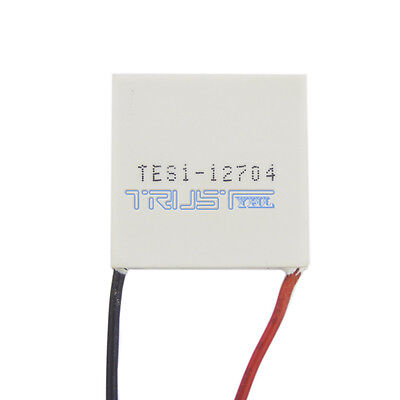 New Tes1-12704 Dc12v Thermoelectric Peltier Cooler Heat Sink Plate Module