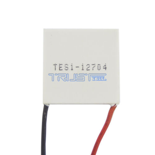 TES1-12704 Peltier Module 30mm TEC Thermoelectric Cooling Heatsink 12V 4A USA.