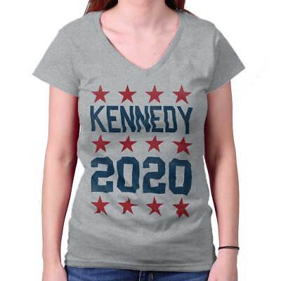 Joe Kennedy III 2020 President USA Shirt Democrat Cool JFK Junior V-Neck
