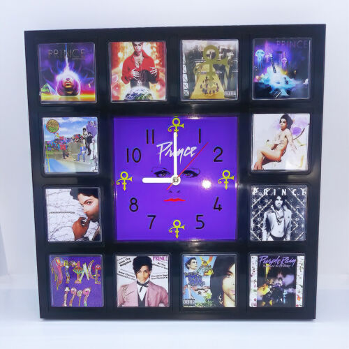 Prince and the Revolution Rock Band Wall Clock