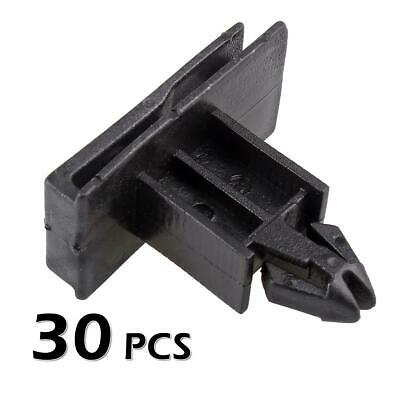 30pcs Rocker Belt Panel Moulding Clip Nylon Retainer Fastener for Grand Prix