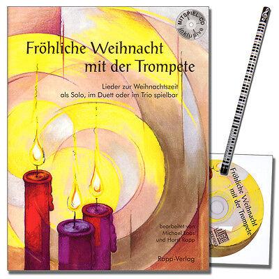 Fröhliche Weihnacht mit der Trompete - in B mit CD - Rapp Verlag - 9990051431155