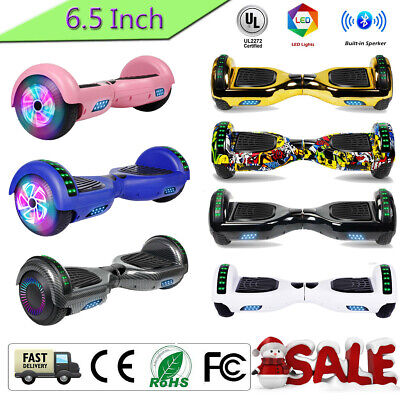 Off Road Bluetooth Hoverboard Self Balance Electric LED Scooter +Bag Best