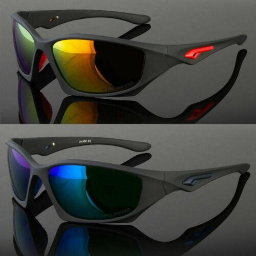 New Polarized Outdoor Sports Eyewear Driving Sunglasses Wrap Around Men Glasses