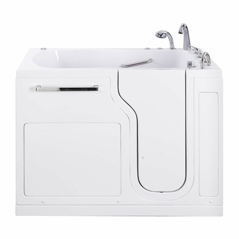 Mobility Bathworks 35x55 Walk in Tub Air Jets and Heated Backrest with Blemishes