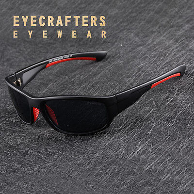 Polarized Sports Sunglasses Mens Outdoor Cycling Riding Fishing Golf Sunglasses2