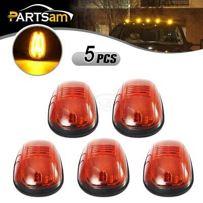 5xOEM Cab Roof Marker Amber 45 LED Lights for Dodge Ram 1500 2500 3500 2003-2018