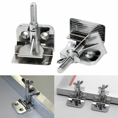 2 Pcs Butterfly Frame Hinge Clamp Diy Tool Silk Screen Printing Hobby Printer