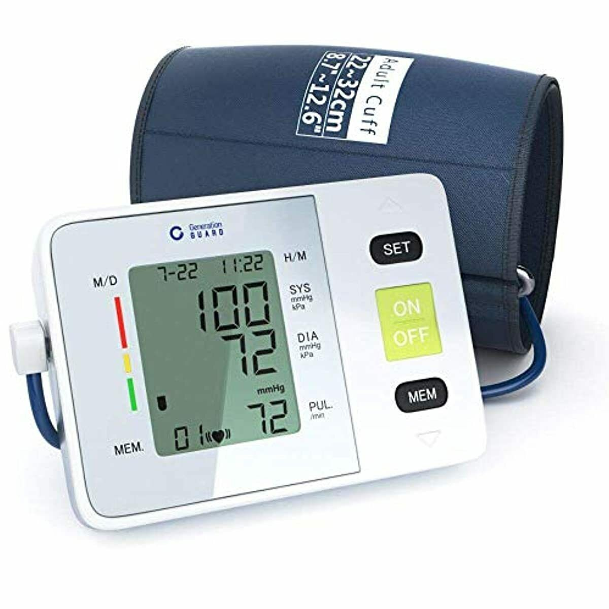 Clinical Automatic Upper Arm Blood Pressure Monitor - Accura
