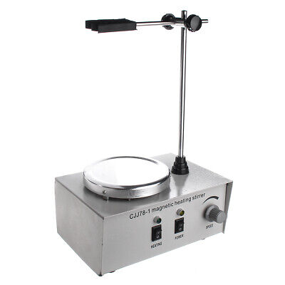 78-1 Hot Plate Magnetic Stirrer Mixer Stirring Laboratory Adjustable 1000ml