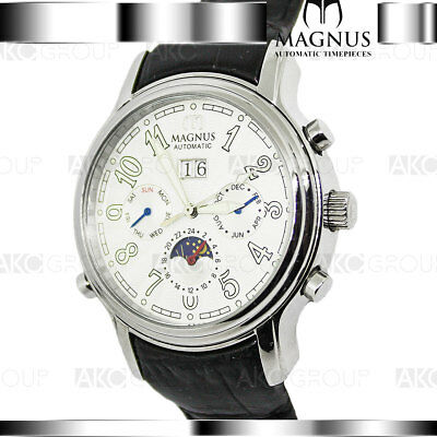Magnus Lugano M104MSB85 Automatic Mens Watch