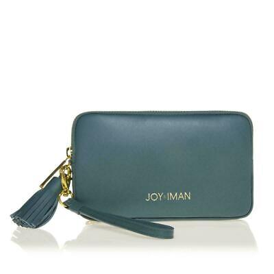 JOY & IMAN Tassel Chic Leather Wallet with RFID, Jade