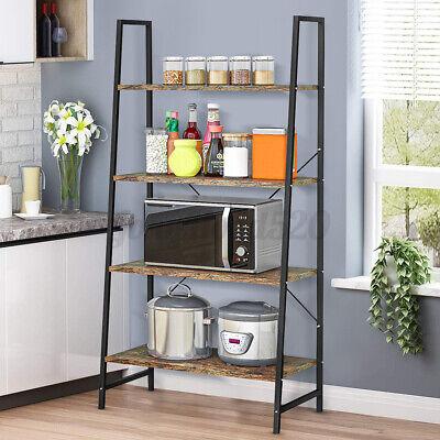 4 Tier Standing Steel Storage Rack Shelves With Wood Garage Steel Metal Shelf